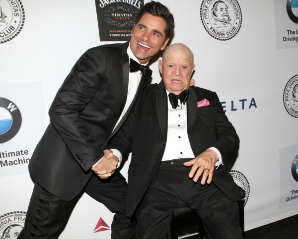 "<div class=""meta ""><span class=""caption-text "">Actor John Stamos and honoree Don Rickles pose for photos at the Friars Club event honoring the 87-year-old legendary insult comic at the Waldorf Astoria in New York on Monday, June 24, 2013. (Greg Allen / Invision / AP)</span></div>"