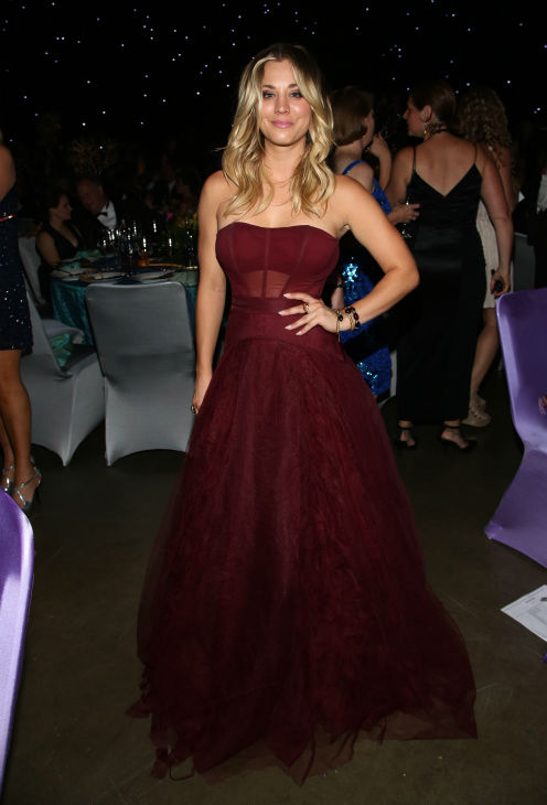 &#39;The Big Bang Theory&#39; star Kaley Cuoco attends the Emmy Awards 2013 Governors Ball after the 65th Primetime Emmy Awards in Los Angeles on Sept. 22, 2013. <span class=meta>(Brian Dowling &#47; Invision for Academy of Television Arts and Sciences &#47; AP Images)</span>