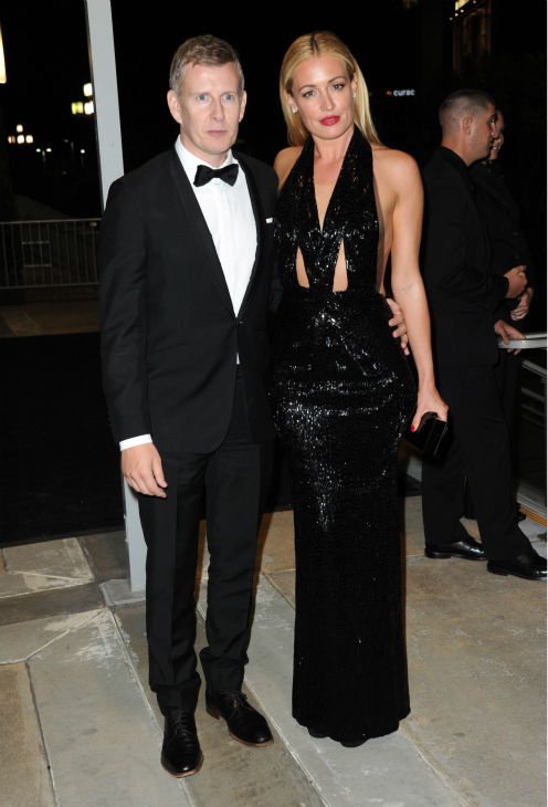 &#39;So You Think You Can Dance&#39; host and Emmy nominee Cat Deeley and husband Patrick Kielty attend the Emmy Awards 2013 Governors Ball after the 65th Primetime Emmy Awards in Los Angeles on Sept. 22, 2013. <span class=meta>(Richard Shotwell &#47; Invision &#47; AP)</span>