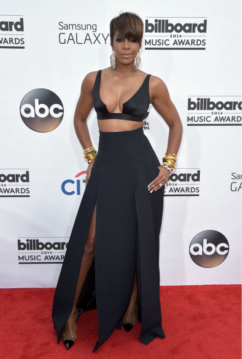 Kelly Rowland arrives at the Billboard Music Awards at the MGM Grand Garden Arena on Sunday, May 18, 2014, in Las Vegas. <span class=meta>(John Shearer &#47; Invision &#47; AP)</span>
