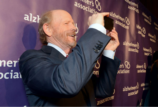 Director Ron Howard arrives at the 21st Annual &#39;A Night at Sardi&#39;s&#39; to benefit the Alzheimer&#39;s Association at the Beverly Hilton Hotel on Wednesday, March 20, 2013 in Beverly Hills, California. <span class=meta>(Jordan Strauss &#47; Invision for Alzheimer&#39;s Association &#47; AP Images)</span>