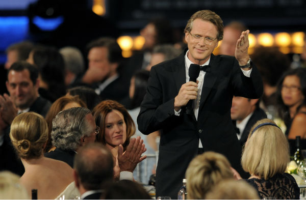 "<div class=""meta ""><span class=""caption-text "">Cary Elwes salutes honoree Mel Brooks during the American Film Institute's 41st Lifetime Achievement Award Gala at the Dolby Theatre in Los Angeles on Thursday, June 6, 2013 in Los Angeles. Elwes played Robin Hood in Brooks' 1993 comedy film 'Robin Hood: Men In Tights.' The actor is best known for his role as Westley in the 1987 movie 'The Princess Bride.' (Chris Pizzello / Invision / AP)</span></div>"