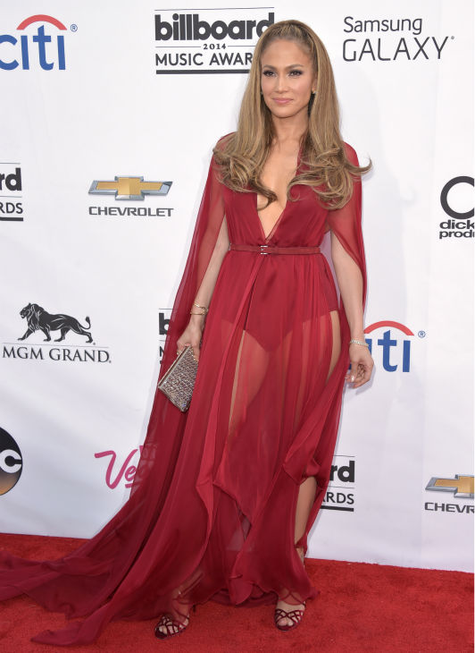Jennifer Lopez arrives at the Billboard Music Awards at the MGM Grand Garden Arena on Sunday, May 18, 2014, in Las Vegas. <span class=meta>(John Shearer &#47; Invision &#47; AP)</span>