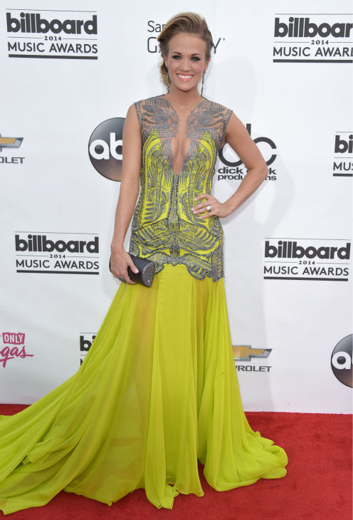 Carrie Underwood arrives at the Billboard Music Awards at the MGM Grand Garden Arena on Sunday, May 18, 2014, in Las Vegas. <span class=meta>(John Shearer &#47; Invision &#47; AP)</span>