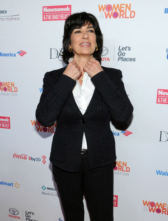 "<div class=""meta ""><span class=""caption-text "">Christiane Amanpour attends the 4th annual Women in the World Summit at the David H. Koch Theater on April 4, 2013 in New York. (Evan Agostini / Invision / AP)</span></div>"