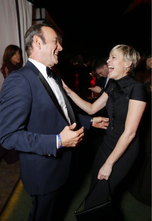 "<div class=""meta image-caption""><div class=""origin-logo origin-image ""><span></span></div><span class=""caption-text"">'House of Cards' stars and Emmy nominees Kevin Spacey and Robin Wright appear at an Emmy Awards 2013 post-show party, hosted by Netflix, in Los Angeles on Sept. 22, 2013. (Eric Charbonneau / Invision for Netflix / AP Images)</span></div>"