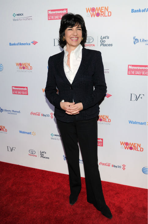 Christiane Amanpour attends the 4th annual Women in the World Summit at the David H. Koch Theater on April 4, 2013 in New York.