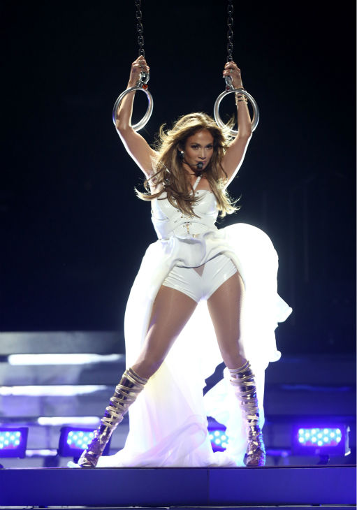 Jennifer Lopez performs at the 'American Idol' finale at the Nokia Theatre at L.A. Live in Los Angeles on Thursday, May 16, 2013.