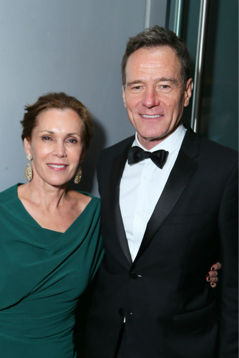 &#39;Breaking Bad&#39; star and Emmy nominee &#40;and former winner&#41; Bryan Cranston and wife appear at an Emmy Awards 2013 post-show party, hosted by AMC, IFC and the Sundance Channel, in West Hollywood, California on Sept. 22, 2013. <span class=meta>(Alexandra Wyman &#47; Invision for AMC &#47; AP Images&#41;)</span>
