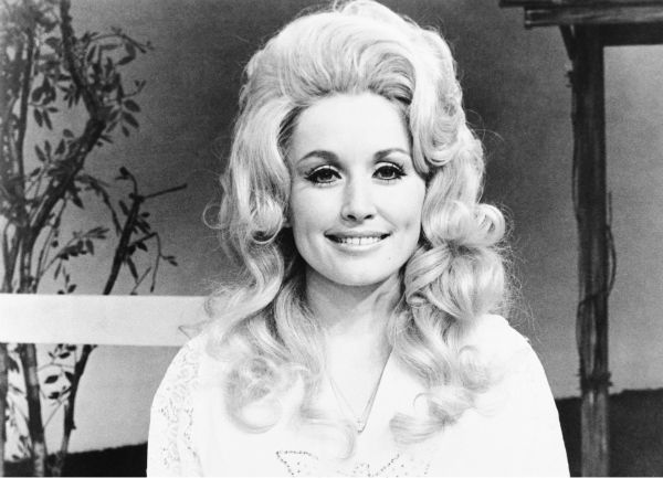 Dolly Parton, country music singer-composer in February 1975.