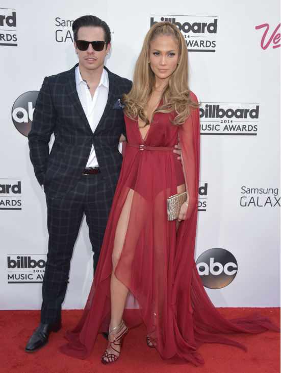 Casper Smart, left, and Jennifer Lopez arrive at the Billboard Music Awards at the MGM Grand Garden Arena on Sunday, May 18, 2014, in Las Vegas. <span class=meta>(John Shearer &#47; Invision &#47; AP)</span>
