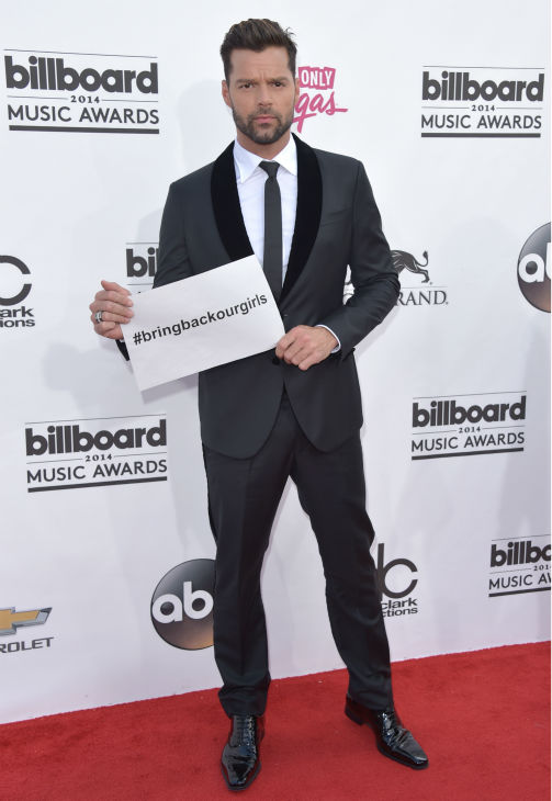 Ricky Martin arrives at the Billboard Music Awards at the MGM Grand Garden Arena on Sunday, May 18, 2014, in Las Vegas. <span class=meta>(John Shearer &#47; Invision &#47; AP)</span>