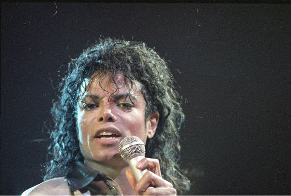 "<div class=""meta ""><span class=""caption-text "">Michael Jackson performs at New York's Madison Square Garden on March 3, 1988. ( AP Photo / Ron Frehm)</span></div>"