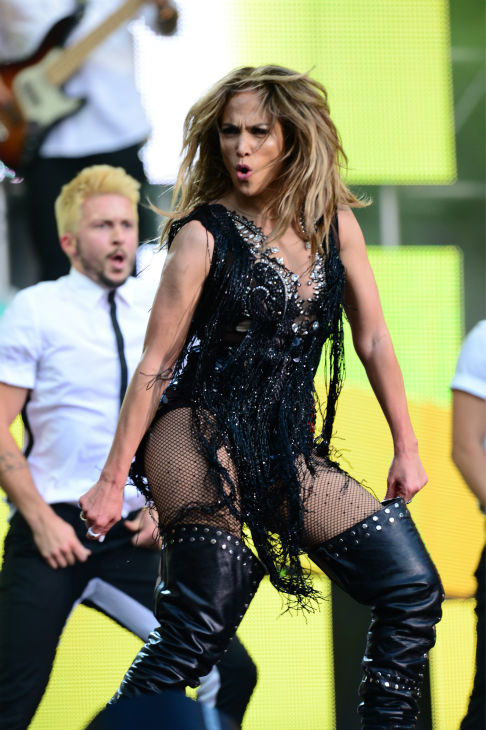 Jennifer Lopez performs at the Sound of Change Live concert at Twickenham Stadium in London on Saturday, June 1, 2013.