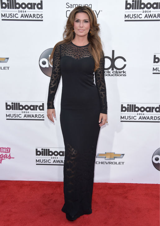 Shania Twain arrives at the Billboard Music Awards at the MGM Grand Garden Arena on Sunday, May 18, 2014, in Las Vegas. <span class=meta>(John Shearer &#47; Invision &#47; AP)</span>