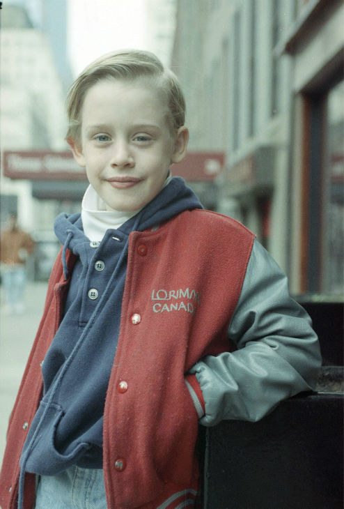 Macaulay Culkin is seen in New York, Jan. 5, 1991.