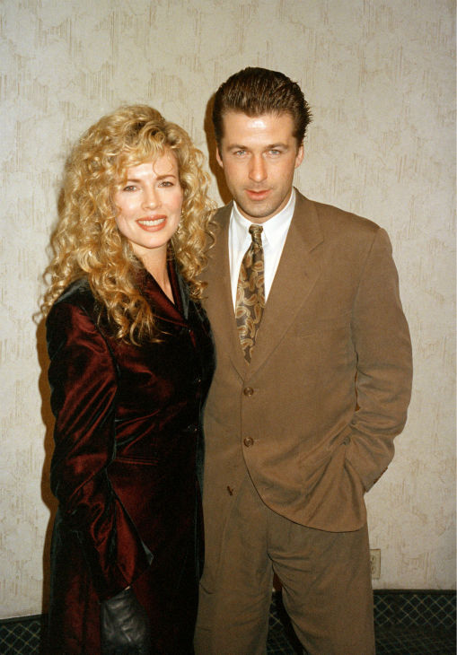 Kim Basinger and Alec Baldwin appear at a...