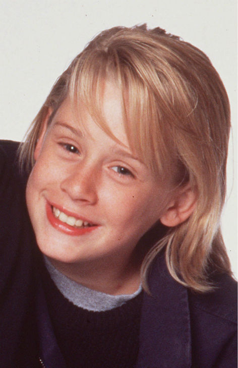 Macaulay Culkin is shown in a 1994 photo.