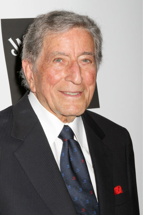 "<div class=""meta ""><span class=""caption-text "">Musician Tony Bennett poses for photos at the Friars Club event honoring legendary insult comic Don Rickles, 87, at the Waldorf Astoria in New York on Monday, June 24, 2013. (Greg Allen / Invision / AP)</span></div>"