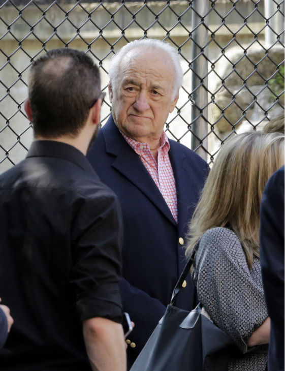 Actor Jerry Adler arrives at the the Cathedral Church of Saint John the Divine for the funeral service of James Gandolfini in New York on June 27, 2013. Gandolfini, who played Tony Soprano in the HBO show &#39;The Sopranos,&#39; died at age 51 while vacationing in Italy. Adler played Hesh in the series. <span class=meta>(AP Photo &#47; Richard Drew)</span>