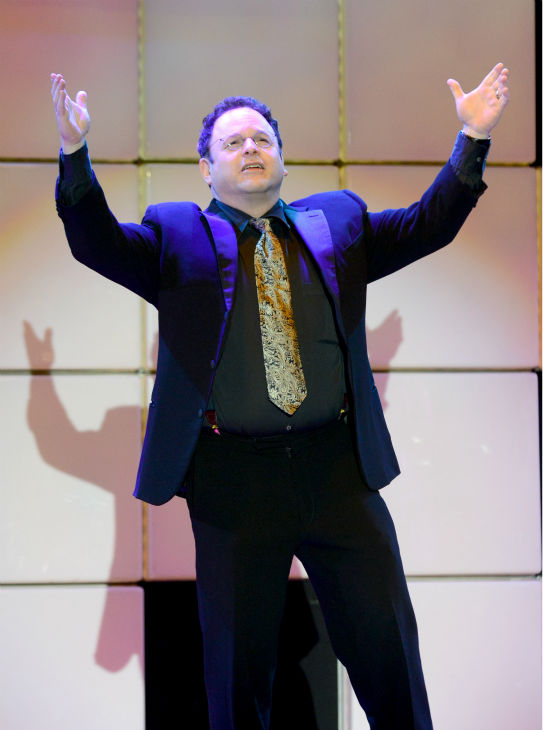 "<div class=""meta ""><span class=""caption-text "">Jason Alexander performs at the 21st annual 'A Night at Sardi's' benefit for the Alzheimer's Association at the Beverly Hilton Hotel on March 20, 2013. (Jordan Strauss / Invision for Alzheimer's Association / AP Images)</span></div>"