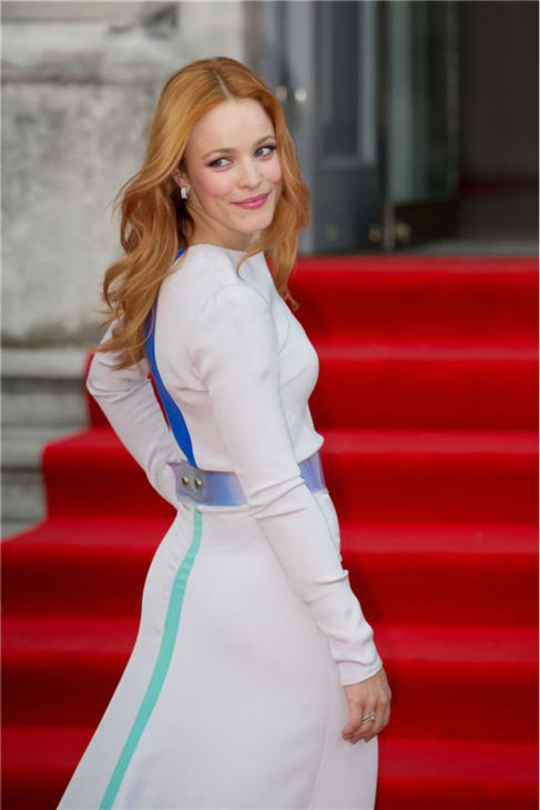 Rachel McAdams walks the red carpet at the premiere of the film &#39;About Time&#39; at the Film4 Summer Screen cinema at Somerset House in London on Aug. 8, 2013. <span class=meta>(Alessio Fiori &#47; Barcroft Media&#47; startraksphoto.com)</span>