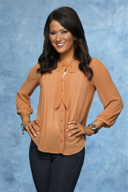 &#39;Bachelor&#39; season 18 contestant Ashley, 25, is a grade school teacher from Dallas, TX. The ABC show returns on Jan. 6 at 8 p.m. ET. <span class=meta>(ABC Photo &#47; Craig Sjodin)</span>
