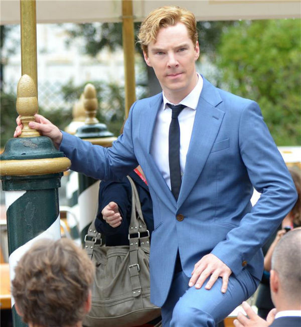 Benedict Cumberbatch appears at a photo call for the movie &#39;Tinker, Tailor, SOldier, Spy&#39; at the 68th annual Venice Film Festival on Sept. 5, 2011. <span class=meta>(Comi-Dalle Luche &#47; Startraksphoto.com)</span>