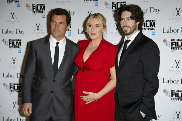 Josh Brolin, Kate Winslet and Josh Brolin appear at the premiere of &#39;Labor Day&#39; in London on Oct. 14, 2013. <span class=meta>(Ben Pruchnie for Paramount Pictures International)</span>