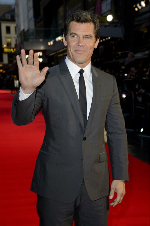 Josh Brolin walks the red carpet at the premiere of &#39;Labor Day&#39; in London on Oct. 14, 2013. <span class=meta>(Ben Pruchnie for Paramount Pictures International)</span>