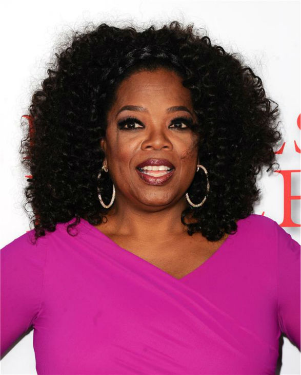 Oprah Winfrey (plays Gloria Gaines) attends the premiere of 'The Butler' in Los Angeles on Aug. 12, 2013. She does not appear in the film.