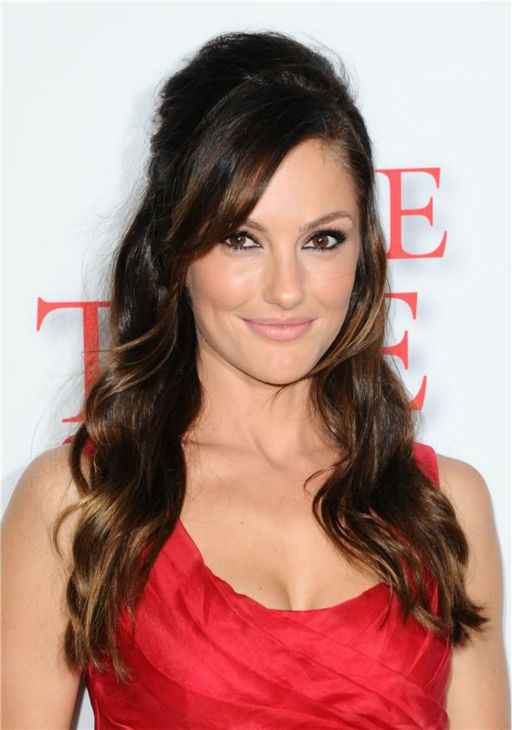Minka Kelly (plays Jacqueline Kennedy) attends the premiere of 'The Butler' in Los Angeles on Aug. 12, 2013.