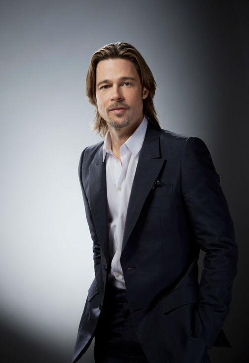 Brad Pitt, who is an Academy Award Nominee for 'Actor in a Leading Role' for his work in 'Moneyball,' appears in a portrait taken by Douglas Kirkland on February 6, 2012.