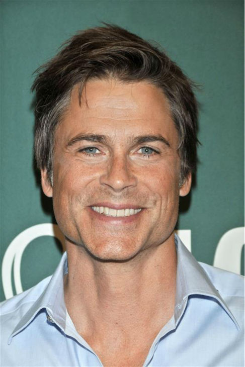 The time Rob Lowe was incredibly good-looking while signing copies of his 2011 memoir, &#39;Stories I Only Tell My Friends&#39; at a book signing event at Barnes And Noble at The Grove shopping center in Los Angeles on April 29, 2011. <span class=meta>(Mark Savage &#47; Startraksphoto.com)</span>