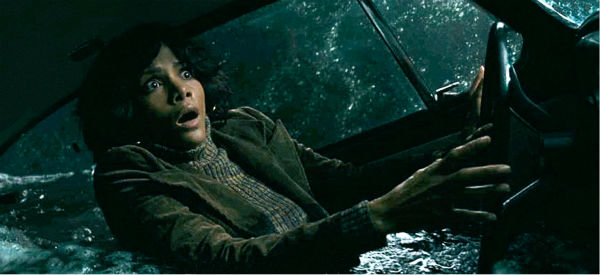 Halle Berry appears as Luisa Rey in a scene from the 2012 movie 'Cloud Atlas.' Rey is a journalist who is investigating reports about a potentially unsafe nuclear power plant in California in 1975.