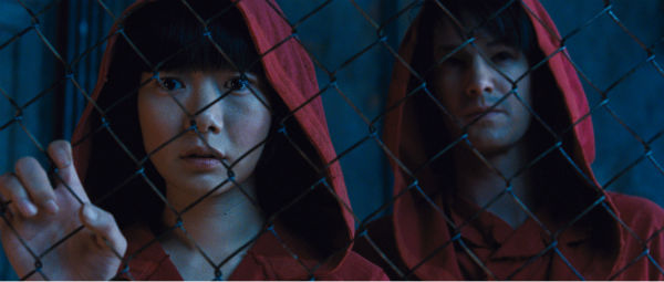 "<div class=""meta ""><span class=""caption-text "">Doona Bae appears as Sonmi-451 and Jim Sturgess appears as Hae-Joo Chang in a scene from the 2012 movie 'Cloud Atlas.'  (Reiner Bajo / Warner Bros. Pictures)</span></div>"
