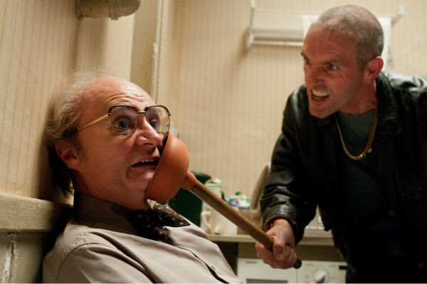 Jim Broadbent appears as Timothy Cavendish and Louis Dempsey appears as Jarvis Hoggins in a scene from the 2012 movie 'Cloud Atlas.'