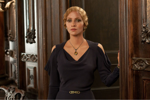 Halle Berry appears as Jocasta Ayrs in a scene...