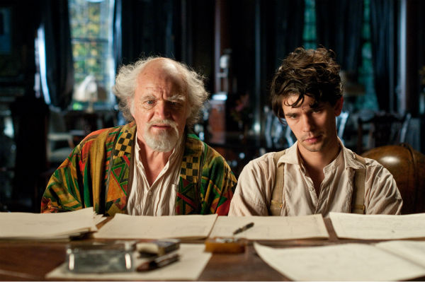 Jim Broadbent appears as Vyvyan Ayrs and Ben Whishaw appears as Robert Frobisher in a scene from the 2012 movie &#39;Cloud Atlas.&#39; <span class=meta>(Reiner Bajo &#47; Warner Bros. Pictures)</span>