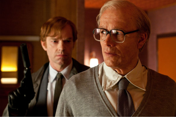 Hugo Weaving appears as Bill Smoke and James D&#39;Arcy appears as old Rufus Sixsmith in a scene from the 2012 movie &#39;Cloud Atlas.&#39; <span class=meta>(Reiner Bajo &#47; Warner Bros. Pictures)</span>