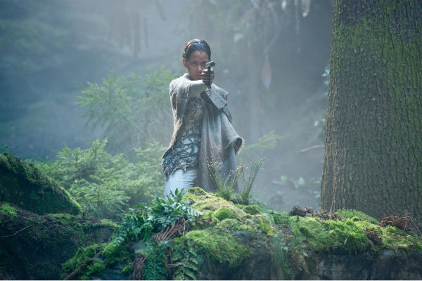 Halle Berry appears as Meronym in a scene from...