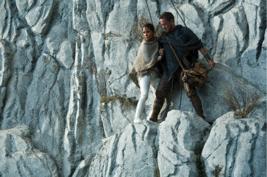 "<div class=""meta image-caption""><div class=""origin-logo origin-image ""><span></span></div><span class=""caption-text"">Tom Hanks appears as Zachry and Halle Berry appears as Meronym in a scene from the 2012 movie 'Cloud Atlas.' (Jay Maidment / Warner Bros. Pictures)</span></div>"