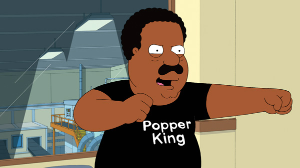 "<div class=""meta image-caption""><div class=""origin-logo origin-image ""><span></span></div><span class=""caption-text"">'The Cleveland Show,' FOX's animated series by Seth MacFarlane, will return for season 4 on Sunday, October 7, 2012 and will air on Sundays between 7:30 and 8 p.m. ET. (FOX BROADCASTING)</span></div>"