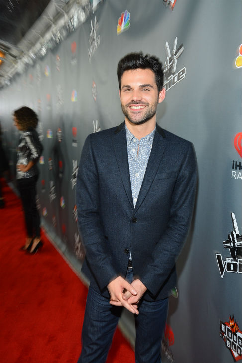 &#39;The Voice&#39; contestant Cody Belew &#40;&#39;Team Cee Lo&#39;&#41; walks the red carpet before the NBC show&#39;s special concert to celebrate the announcement of the top 12, held at the House of Blues in Los Angeles on Nov. 8, 2012. <span class=meta>(Frazer Harrison &#47; NBC)</span>