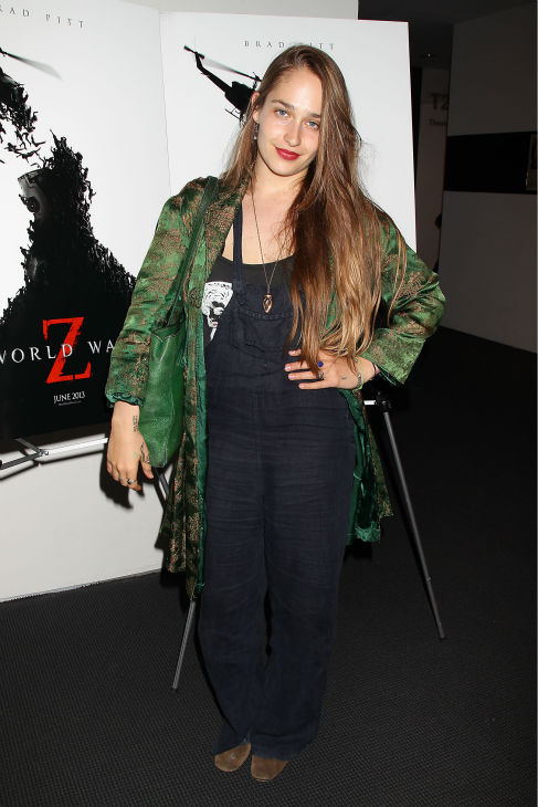 "<div class=""meta image-caption""><div class=""origin-logo origin-image ""><span></span></div><span class=""caption-text"">Jemima Kirke of the HBO show 'Girls' appears at a special tastemaker screening of the studio's new film 'World War Z,' starring co-host Brad Pitt and directed by Marc Forster, at The Museum of Modern Art in New York on Wednesday, May 22, 2013. (Dave Allocca / Startraks for Paramount Pictures)</span></div>"
