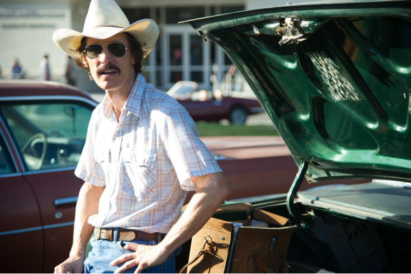 Matthew McConaughey stars as AIDS patient Ron Woodroof in Jean-Marc Vallee's 2013 fact-based drama film, 'Dallas Buyers Club,' a Focus Features release.