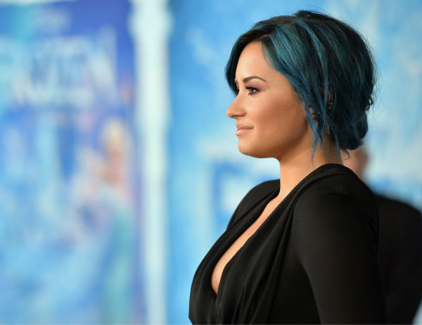 Singer Demi Lovato attends the premiere of Disney&#39;s &#39;Frozen&#39; at the El Capitan Theatre in Los Angeles on Nov. 19, 2013. Her song, &#39;Let It Go,&#39; is featured on the movie&#39;s soundtrack. <span class=meta>(Alberto E. Rodriguez &#47; WireImage for Walt Disney Studios)</span>