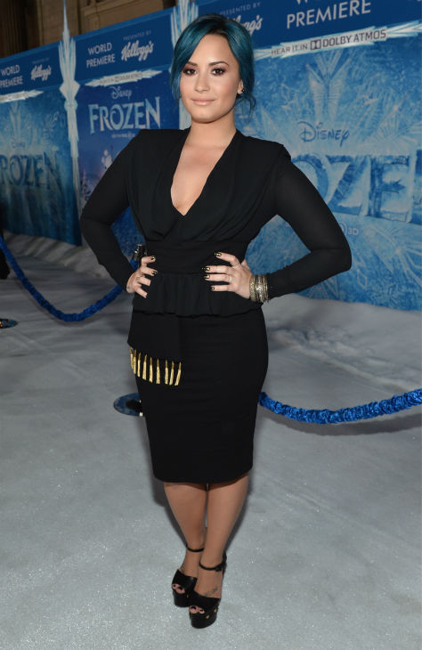 "<div class=""meta image-caption""><div class=""origin-logo origin-image ""><span></span></div><span class=""caption-text"">Singer Demi Lovato attends the premiere of Disney's 'Frozen' at the El Capitan Theatre in Los Angeles on Nov. 19, 2013. Her song, 'Let It Go,' is featured on the movie's soundtrack. (Alberto E. Rodriguez / WireImage for Walt Disney Studios)</span></div>"
