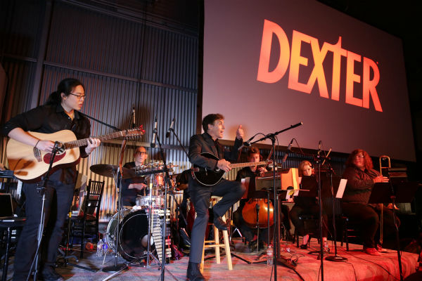 "<div class=""meta image-caption""><div class=""origin-logo origin-image ""><span></span></div><span class=""caption-text"">Composer Dan Licht and his band performs at Showtime's premiere of 'Dexter' season 8 in Los Angeles on June, 15, 2013. (Eric Charbonneau / Invision for Showtime)</span></div>"