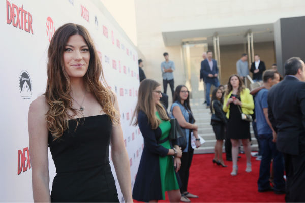 "<div class=""meta ""><span class=""caption-text "">Jennifer Carpenter appears at Showtime's premiere of 'Dexter' season 8 in Los Angeles on June, 15, 2013. (Eric Charbonneau / Invision for Showtime)</span></div>"